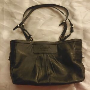 Leather Coach Tote (needs A LOT of TLC!)